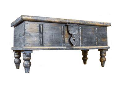Reclaimed Blue City Chest